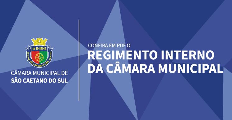 Confira o Regimento Interno da Câmara Municipal de São Caetano do Sul