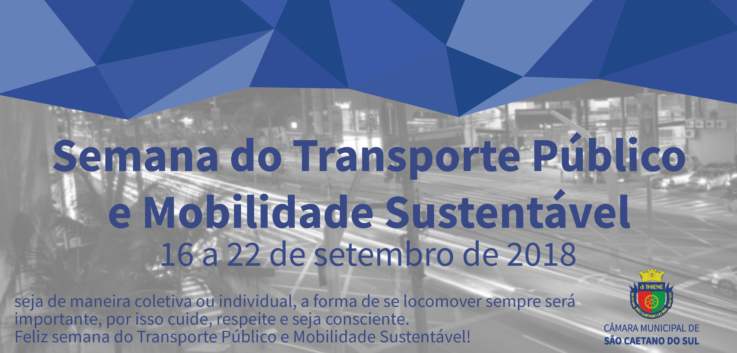 Semana do transporte público e mobilidade sustentável