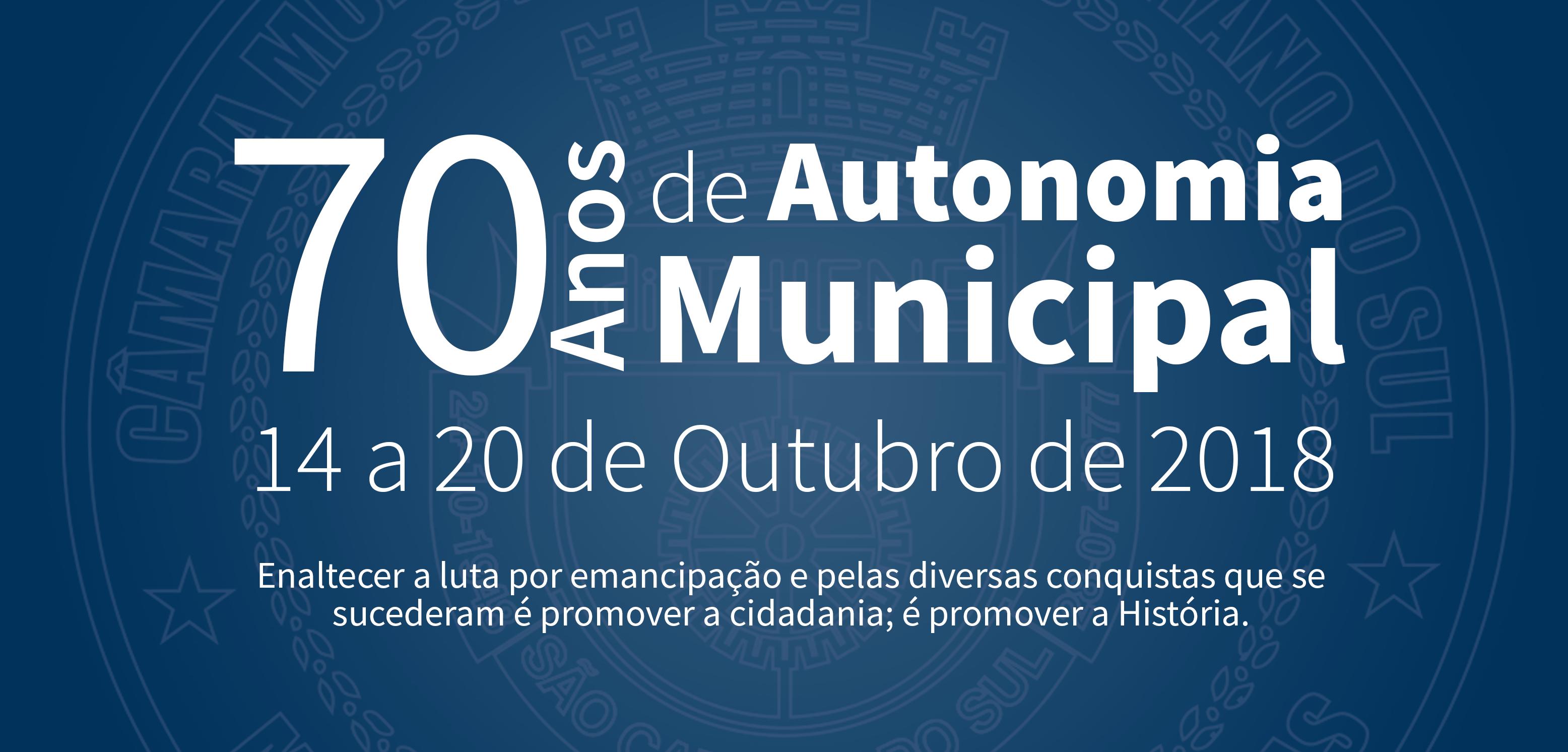 Semana da Autonomia Municipal