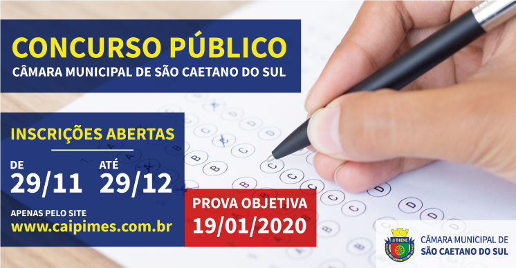 Concurso Público CMSCS - Inscrições Abertas