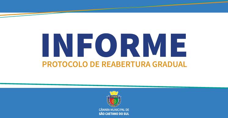 COMUNICADO OFICIAL - PROTOCOLO DE REABERTURA GRADUAL CMSCS