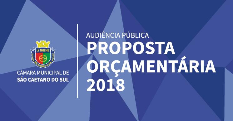 Audiência Pública: Proposta Orçamentária 2018