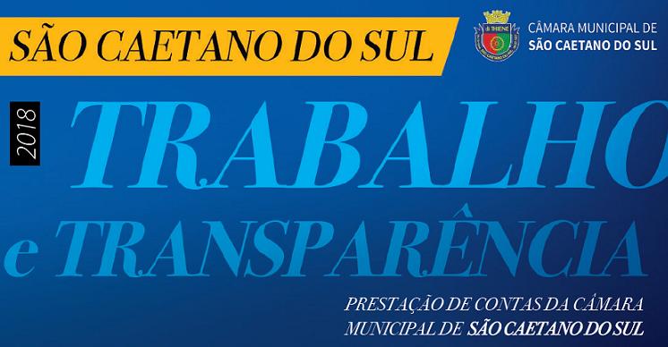 Revista São Caetano do Sul: Trabalho e Transparência